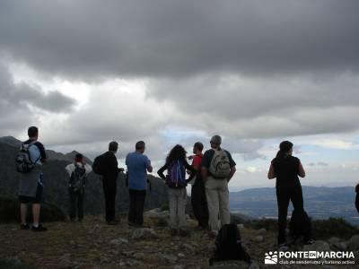 Cuerda de las Cabrillas - Senderismo en el Ocaso;yelmo pedriza senderismo valle del jerte